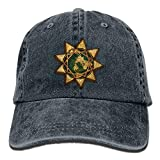 Xscapev A Pakistani Baha'I's Story - Minority Rights Group.png Unisex Denim Baseball Cap Adjustable Strap Low Profile Plain Hats Outdoor Casquette Adjustable Sunbonnet Navy