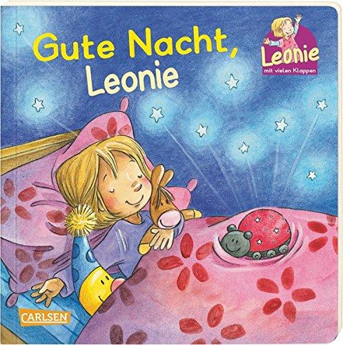 Gute Nacht, Leonie: Pappbilderbuch mit Klappen