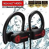 Best Water-resistant Headphones - Roxxio Moov Bluetooth Wireless IPX7 Waterproof Earphones Headset Review