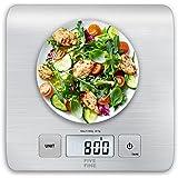 Bilancia da Cucina Digitale Bilancia Precisione 1g Bilancia Elettronica da Cucina Con Funzione Tare e Display a LCD, 4 Unità