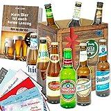 Geschenkideen für Männer | Bier aus aller Welt Geschenkset für Männer