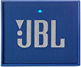 JBL Go Ultra Portable Rechargeable Bluetooth Speaker with Aux-In Compatible - Blue