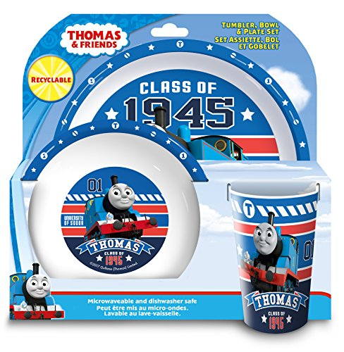 Thomas the Tank Engine College Tumbler, plastik, blau, 20.7 x 20.7 x 11.20 cm