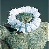 Encolure baroque foulard col blanc à volants accessoire de clown jabot collerette élégant