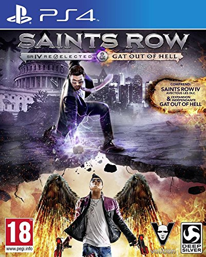 Saints Row IV : Gat out of Hell + édition re-elected -...
