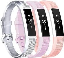 Tobfit For Fitbit Alta HR Strap, Adjustable Replacement Soft Sport Straps for Fitbit Alta HR and Fitbit Alta (NO Tracker)