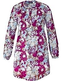 adonia mode Damen Tunikakleid Long-Tunika Empire Blume Gr.36 - 44
