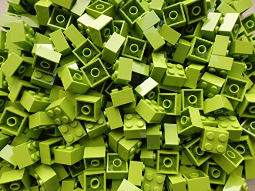 LEGO Bricks: Lime Green 2x2. Part 3003 (X 50) by LEGO (Lego Star Wars Sets $50)