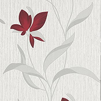 Superfresco Mellow Motif Red//Beige Wallpaper