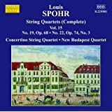 Spohr: Quartets Volume 15 (String Quartets Nos. 19 & 22) (Marco Polo: 8225981)