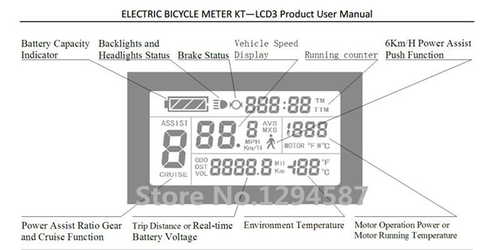 61I1sssdCLL - NBPOWER 36V/48V 750W 25A Brushless DC Motor Controller Ebike Controller +KT-LCD3 Display One Set,used for 750W-1000W…