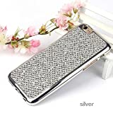 HTC M9 Glitter Case,Bling Case for HTC M9,Leeook Luxury Creative Shiny Slim Fit Thin Flexible Silver Soft Gel Bumper Protective Tpu Rubber Case Cover for HTC M9+ 1 x Black Stylus-Silver Glitter