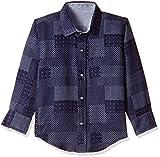 Gini and Jony Boys' Shirt (121012122733 C654_Blue Indigo (C654)_12)