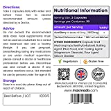 Pure Acai - Powerful 1500mg Strength - 100% Pure & Natural Acai Berry Capsules - Acai Berries Formula - Antioxidant Supplement - 60 Capsules