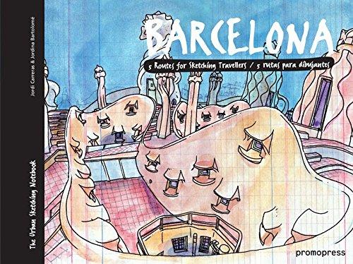 Barcelona. 5 rutas para dibujantes (The Urban Sketching Notebook) Epub Gratis