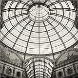Stampa su Tela 120 x 120 cm: Galleria Vittorio Emanuele II, Milan di Alexander Voss - Poster Pronti, Foto su Telaio, Foto su Vera Tela, Stampa su Tela