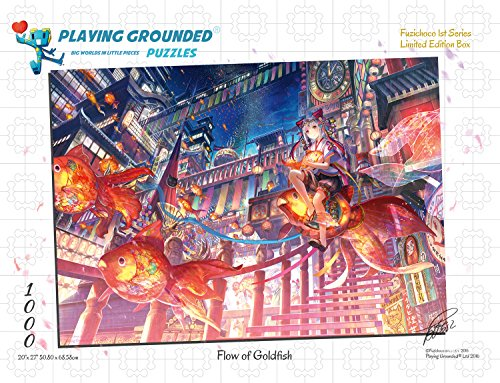 Playing Grounded Flow of Goldfish Fantasy Jigsaw Puzzle...