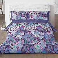 Burrito Blanco - Funda nórdica 095 Azul de cama de 135x190/200 cm