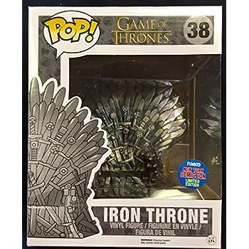 Funko Game Of Thrones 6 Quot Pop Vinyl Iron Throne Nycc 2015