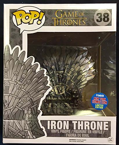 Thrones-Figur Der eiserne Thron NYCC 2015 Pop 15 cm – 0849803063931 (New York Comic-con)