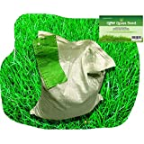 1 kg Grass Seed Covers 35 sqm (380 sq ft) - Premium Quality Seed - Fast Growing - Hard Wearing Lawn Seed - Tailored to UK Climate - Trademark Registered - 100% Refund