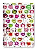 Collegetimer Apples 2014/2015 - Schülerkalender A5 - Day By Day - 352 Seiten