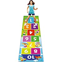 lestriu zone™ Hopscotch Jumbo Play Game for Kids & Adults Family Game, Floor Game,Child Learning Game,Numeric Count and…