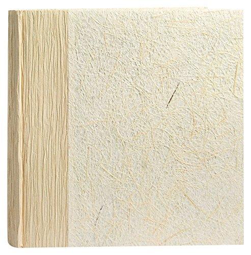 Zep bk242420bangkok album fotografico tradizionale fogli carta laminato beige/bianco 26x 26x 3,5cm