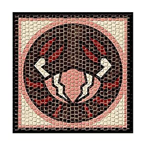 CUIT Cocido-2207-Mosaico-Horoscope Cancer-20 x 20 cm