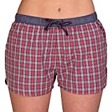 Luca David Olden Glory Damen Pyjama-Shorts mit Karo-Muster - Größe 44 (2400-17208-44)