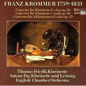 Clarinet Concerto In E Minor, Op. 86: Allegro