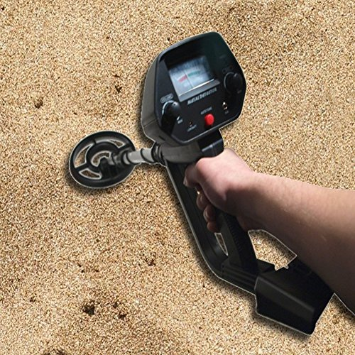 Maclean-Energy-MCE-965-Discriminating-Metal-Detector-Waterproof-Coil-For-Treasure-Hunt-Search-w-Shovel