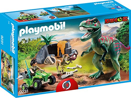 PLAYMOBIL-9231-T-Rex-Angriff