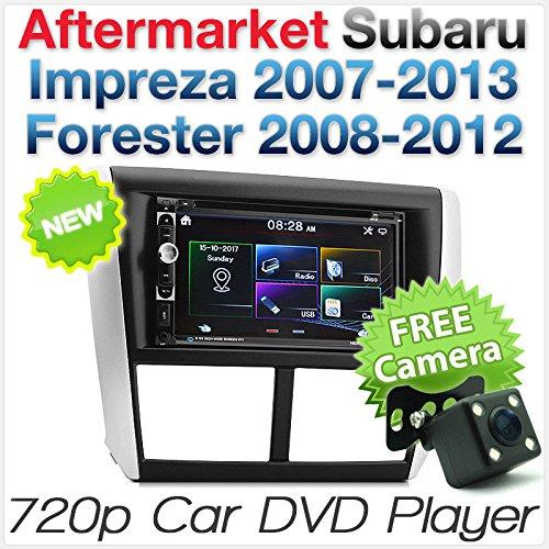 Tunez Auto-DVD-Player, USB, Stereo, Radio, Subaru Impreza GE, GH, GR, GV, G3, Facia, Fascia-Kit