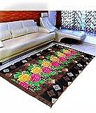 #6: Warmland Floral Velvet Carpet - 60