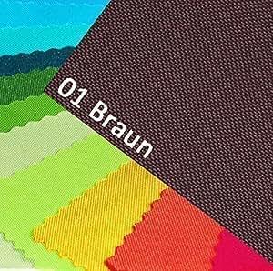 OXFORD 600D coloris 01/marron 1 m tissu de polyester et extérieur imperméable résistant en pVC résistant aux déchirures pour table vendu au mètre pour bâche tente sac à dos en toile