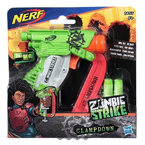 Hasbro NERF B4968EU4 NER Zombiestrike Clampdown, Mehrfarbig - 2