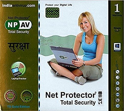 Net Protector Total Security 2018 - 1 PC (1 YR)