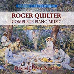 Quilter : L'oeuvre pour piano. Norris.