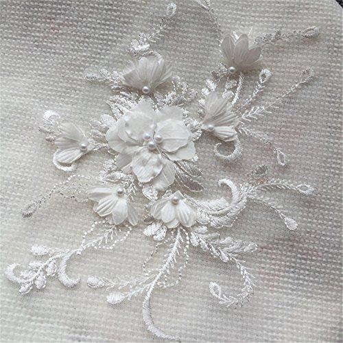 Selene 3d-Spitze, Stickerei, Spitze, für Braut, Hochzeit, Kleid, Tanz, 17.5cm * 21cm gebrochenes...