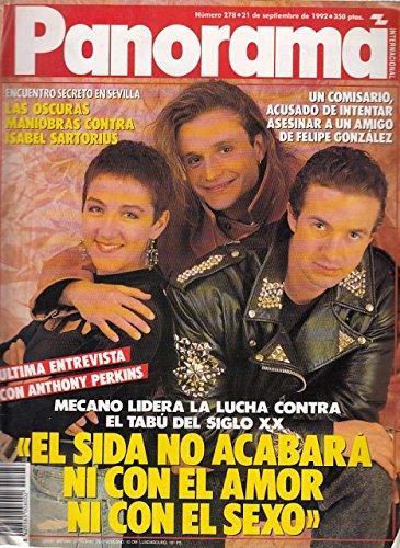 PANORAMA (La cruzada de Mecano contra el Sida; Entrevista a Manuel Chaves; Woody Allen contraataca)