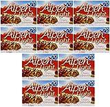 : Alpen Light Cherry Bakewell Bars 145g, - Pack of 10, 5 Bars Each
