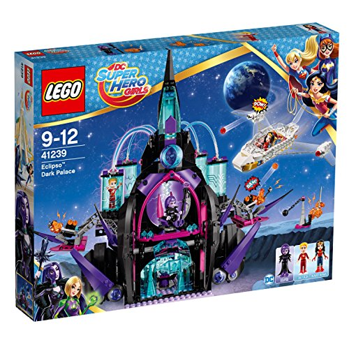Invisible Girl Kostüm - LEGO DC Super Hero Girls 41239 - Der dunkle Palast von Eclipso