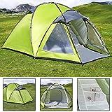Best Waterproof Tents - Deuba Dome Tunnel Tent 3/4 Persons | Waterproof Review