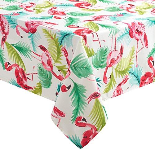 Benson Mills Flamingo Tischdecke, mehrfarbig, 52'' X 70'' Oblong (52 X 70 Tischdecke)