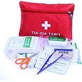 Fliyeong Erste-Hilfe-Set: Kompakt für den Notfall, Auto, Camping, Arbeitsplatz, Wandern und Überleben.