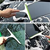 #9: HOKIPO Handy Household Glass Windows & Car Windscreen Cleaning Wiper Squeegee (Random Colors)