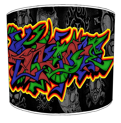 20,3 cm Table Graffiti Street Art Lampshades5, 25,4 cm