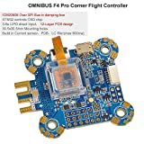 LITEBEE F4 Pro Corner Controladora De Vuelo PDB + Betaflight OSD + BEC Flight Controller (Current Sensor, LC Filter, Supports 3-6s Lipo) for FPV Racing RC Drone Quadcopter by