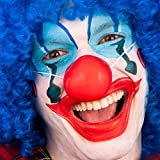Carnival Toys 2 NASI Clown Rossi in MORDIDA Gomma con Elastico